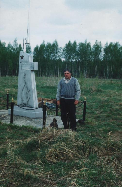 Владимир Иванович Прыгунов в Долгинево