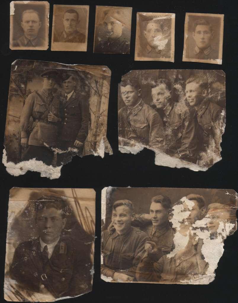 Фотографии из планшета, обнаруженного на месте гибели