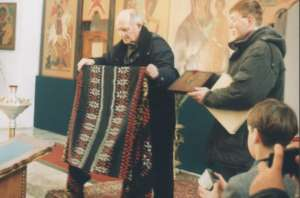 Передача иконы в храме г. Гагарин