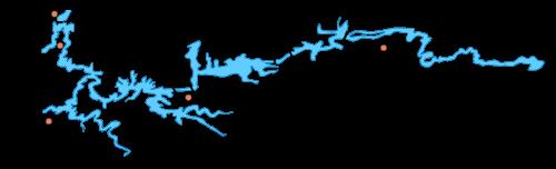 Cхема Вазузской гидросистемы. НС - насосные станции