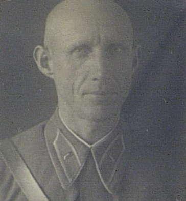 Командир 124-го кавалерийского полка майор Виталий Иосифович Чикулин